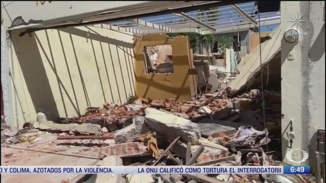 fuerte explosion de gas en vivienda en san luis potosi