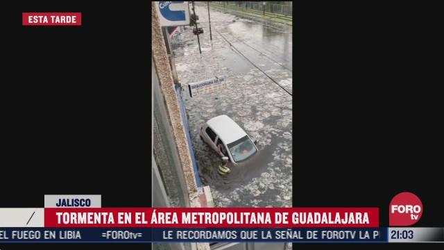 inundaciones por lluvias en Guadalajara, Jalisco