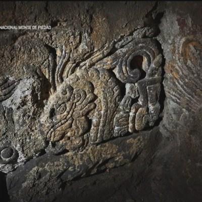 Hallan restos del Palacio de Axayácatl bajo edificio del Monte de Piedad en CDMX