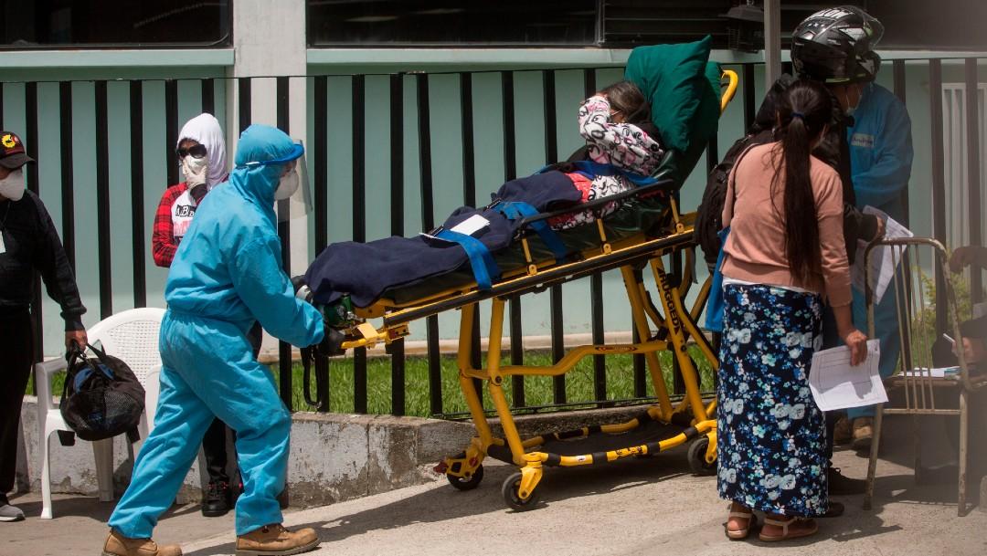 Hospital de Guatemala mezcla a pacientes con y sin COVID-19 por hacinamiento