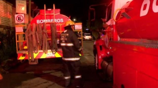 Se registra incendio en la instalaciones del CODE en Jalisco
