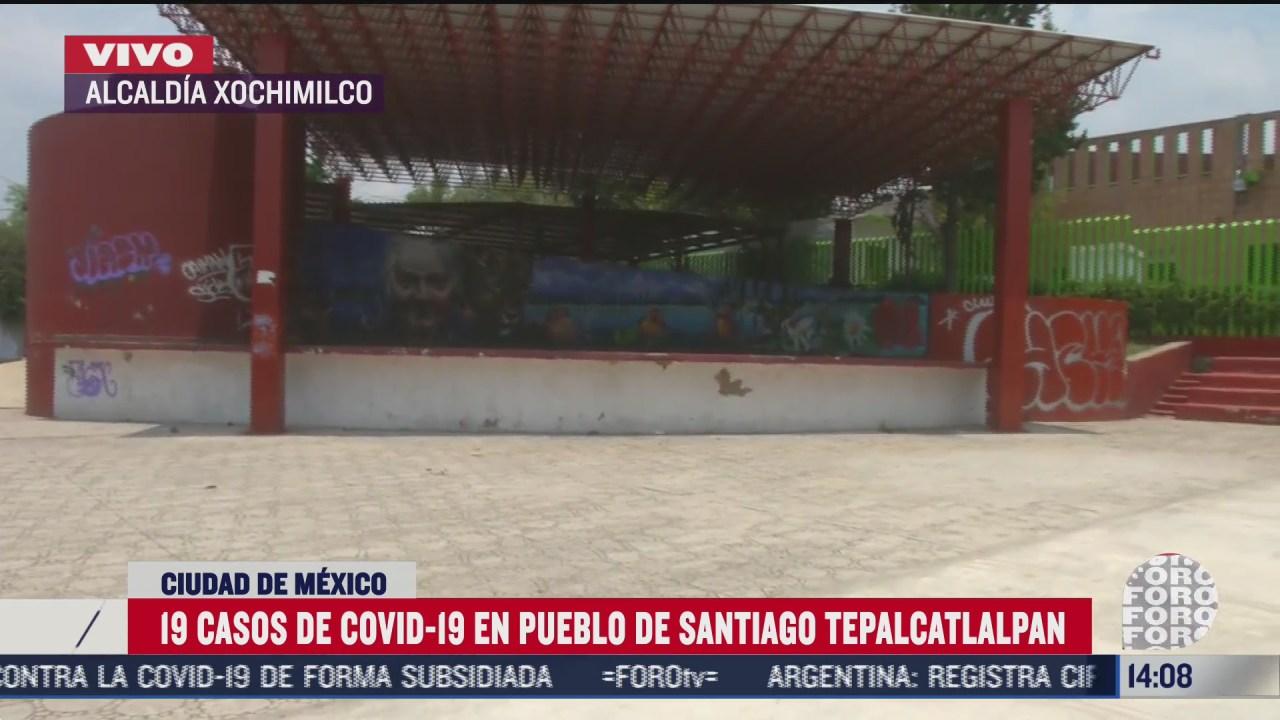 instalaran kioscos de salud en xochimilco para evitar mas contagios de covid