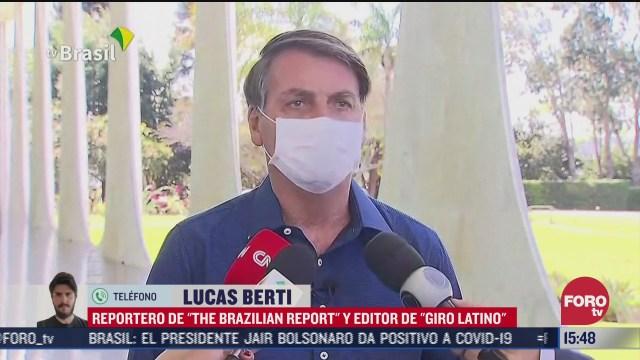 jair bolsonaro no cumplio con el confinamiento por coronavirus
