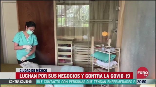 emprendedora lucha por mantener su negocio en pandemia coronavirus