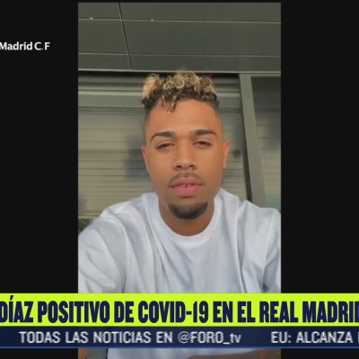 Jugador del Real Madrid da positivo a Covid-19