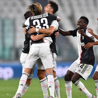 Juventus se convierte en campeón de Italia por novena ocasión consecutiva
