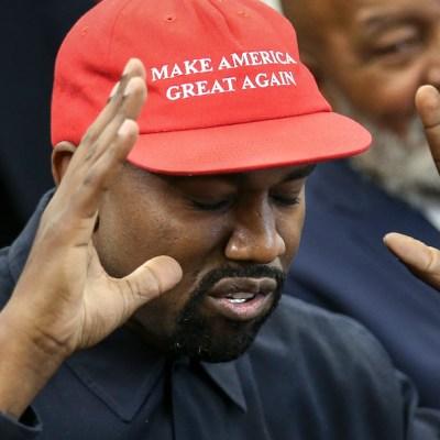 El polémico rapero Kanye West