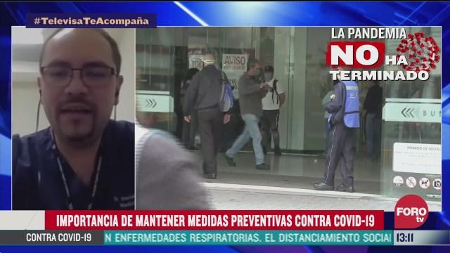 la importancia de mantener las medidas preventivas ante el coronavirus covid