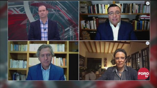 Mario Campos, Ana Laura Magaloni, Luis de la Calle y Sabino Bastidas analizan el encuentro de AMLO con Trump en EEUU