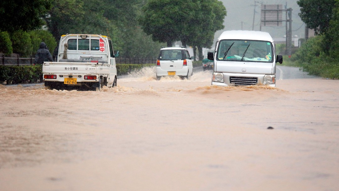 Las fuertes lluvias en Japón dejan al menos 15 muertos y 9 desaparecidos