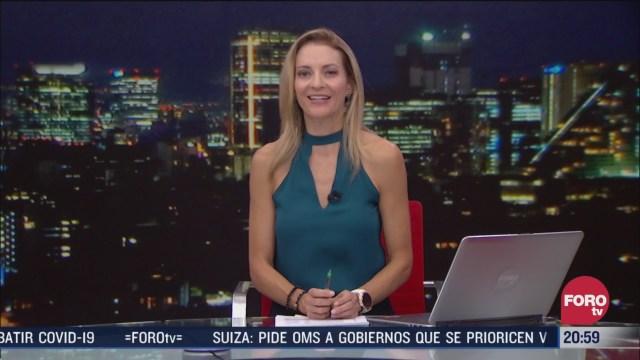 Las Noticias Ana Francisca Vega Programa Completo Forotv 30 Julio 2020