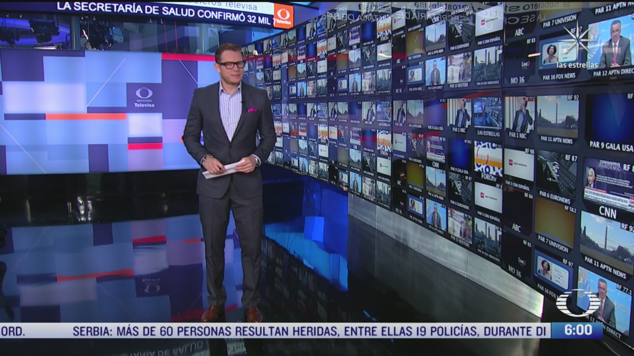 las noticias con carlos hurtado programa completo del 9 de julio del