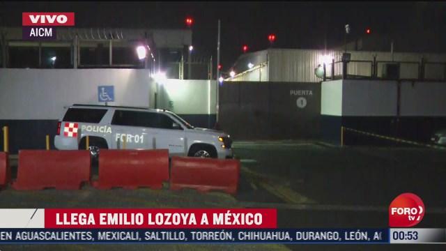 Llega Emilio Lozoya a México, se espera salida de la Fiscalía de CDMX