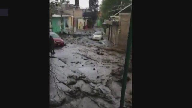 lluvias provoca deslave de cerro en alcaldia tlahuac de la cdmx