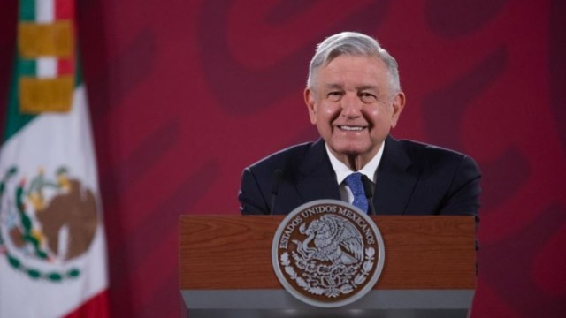 López Obrador conferencia Palacio Nacional