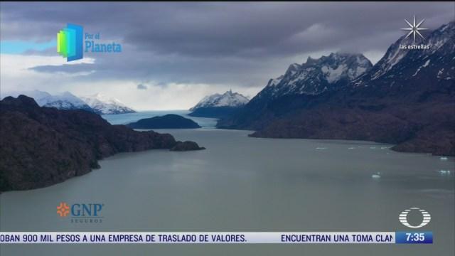 los glaciares del parque nacional torres del paine