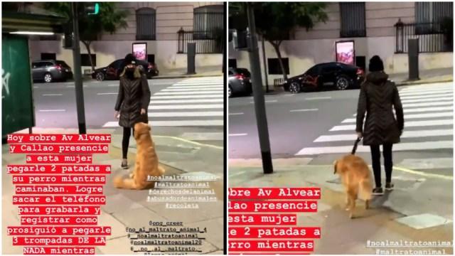 Maltrato animal, Buenos Aires, captura de pantalla