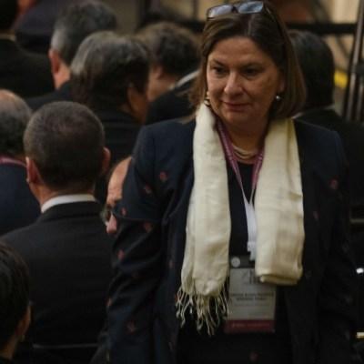Coincidencia, detención de César Duarte durante vista de AMLO a EEUU: Martha Bárcena