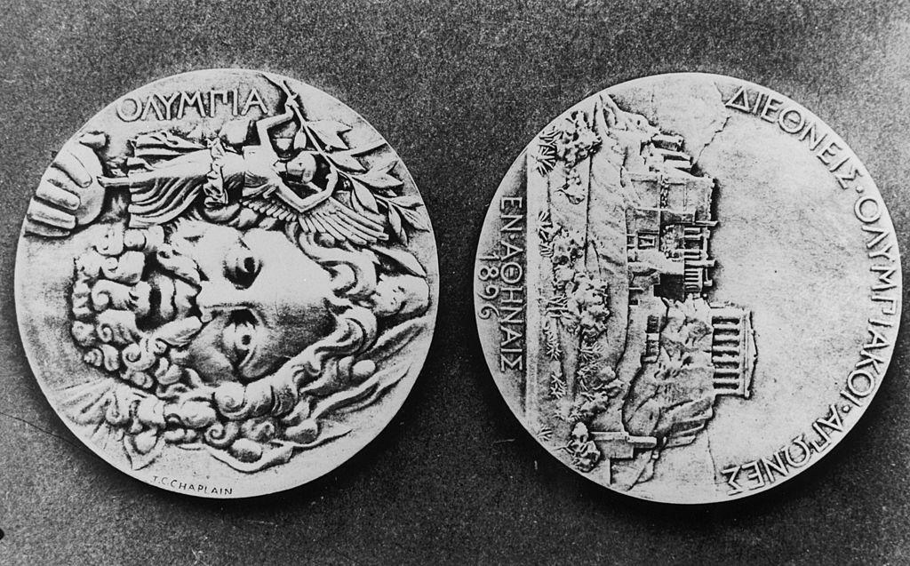 Medallas de los Juegos Olímpicos de 1896 en Atenas