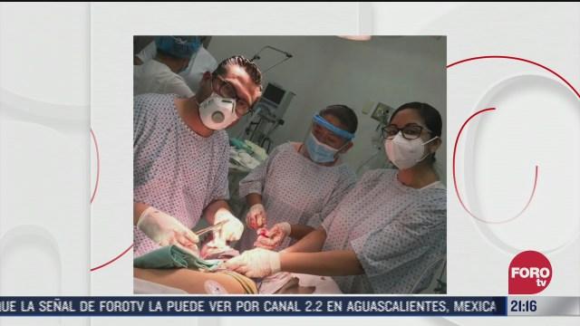 Médico convaleciente salva la vida de un soldado en Tabasco