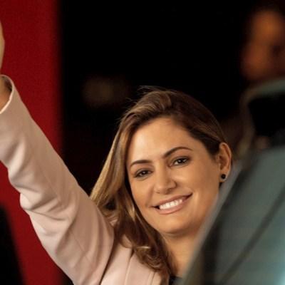 Michelle Bolsonaro, esposa del presidente de Brasil, Jair Bolsonaro