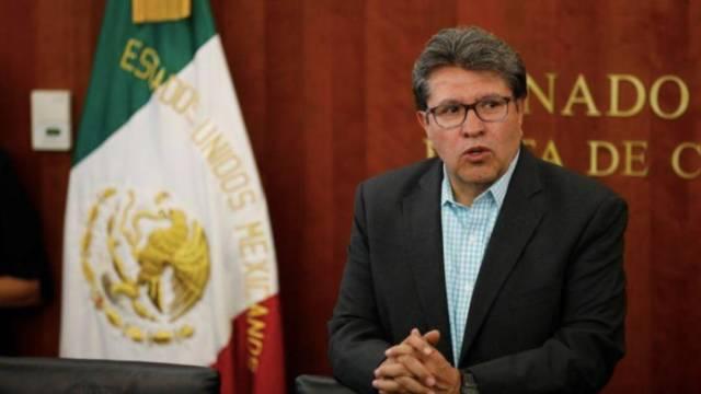 """El coordinador de Morena en el Senado, Ricardo Monreal, descartó pactos en el caso Emilio Lozoya y dijo solo se aprovechará """"criterio de oportunidad"""""""