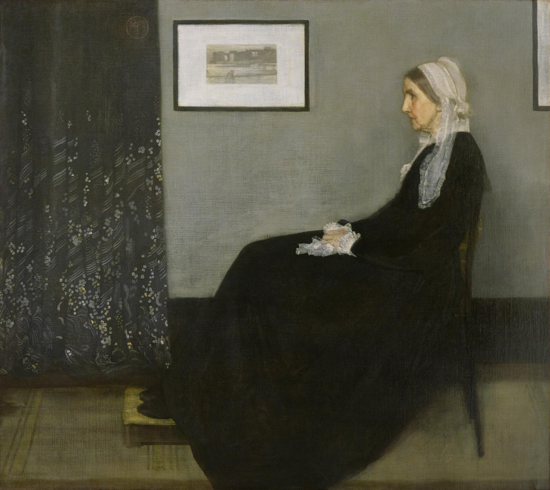 James Abbot Whistler, madre de Whistler, pintura