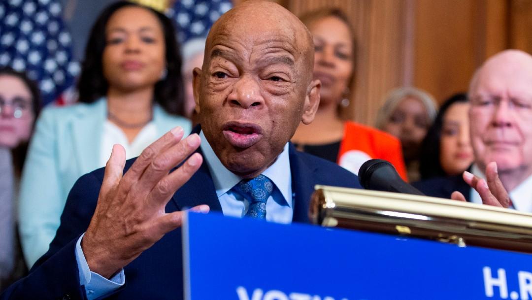 Muere el congresista John Lewis, histórico líder de los derechos civiles