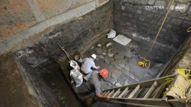 Hallan-restos-de-palacio-prehispánico-bajo-Monte-de-Piedad-cdmx