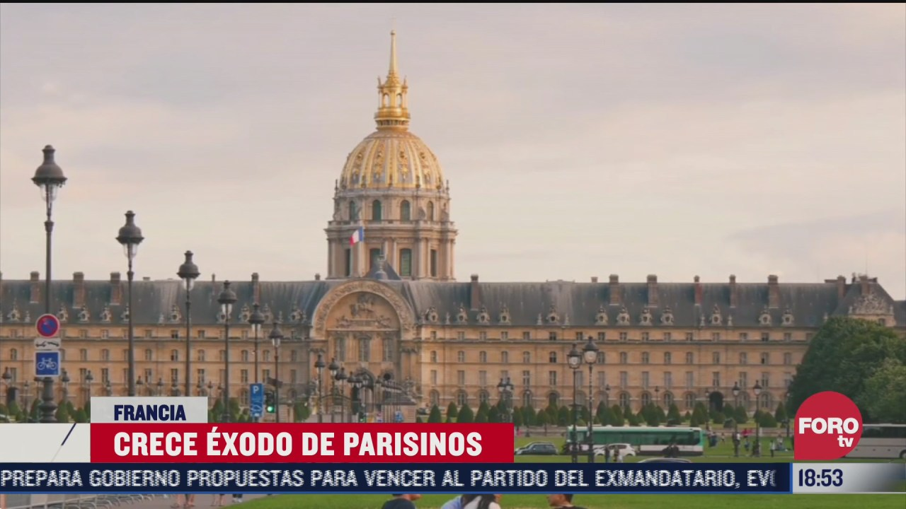 parisinos huyen a otras localidades por altos costos