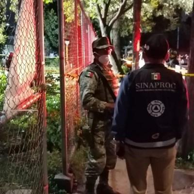 Pemex asegura una toma clandestina en Industrial Vallejo en la Ciudad de México