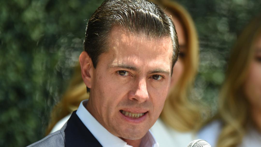 Fotografía del expresidente Enrique Peña Nieto.