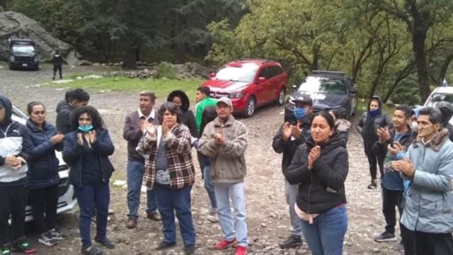 Perdidos en el parque Los Dinamos, Ciudad de México