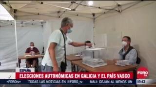 FOTO: 12 de julio 2020, pp y partido nacionalista vasco ganan elecciones en galicia y pais vasco