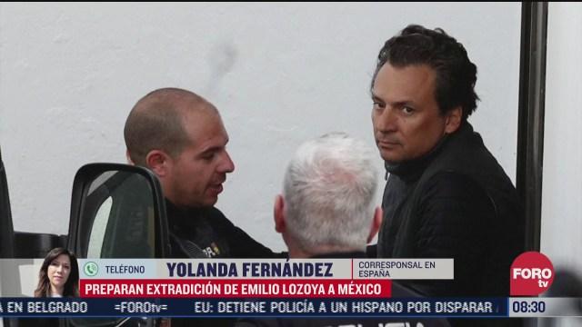 FOTO: 11 de julio 2020, preparan extradicion de emilio lozoya a mexico