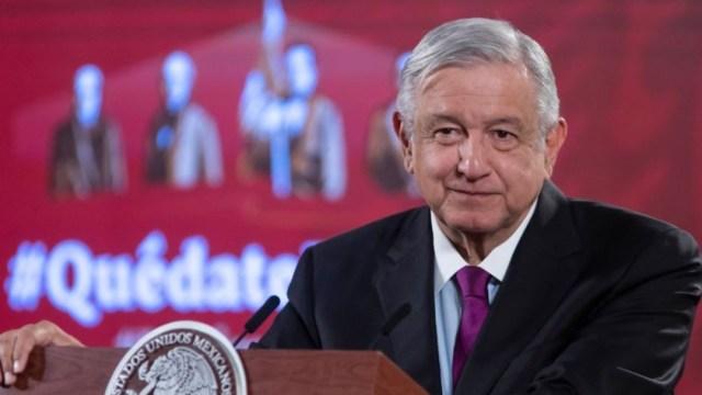 Presidente de México en conferencia de prensa