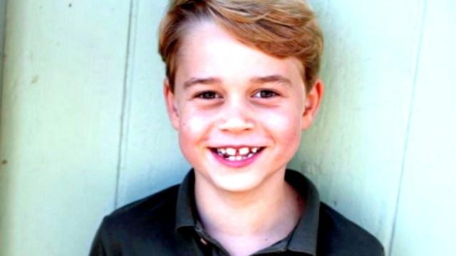 El príncipe Jorge, hijo de los duques de Cambridge, cumple siete años