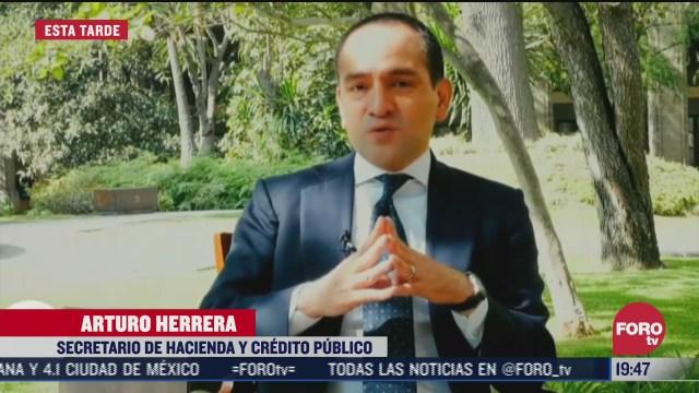 Arturo Herrera secretario de hacienda agradece apoyo de empresaios por nueva reforma a sistema de pensiones en México