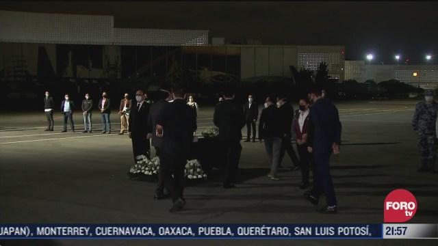 FOTO: 11 de julio 2020, repatrian cenizas de mexicanos que murieron en estados unidos por covid