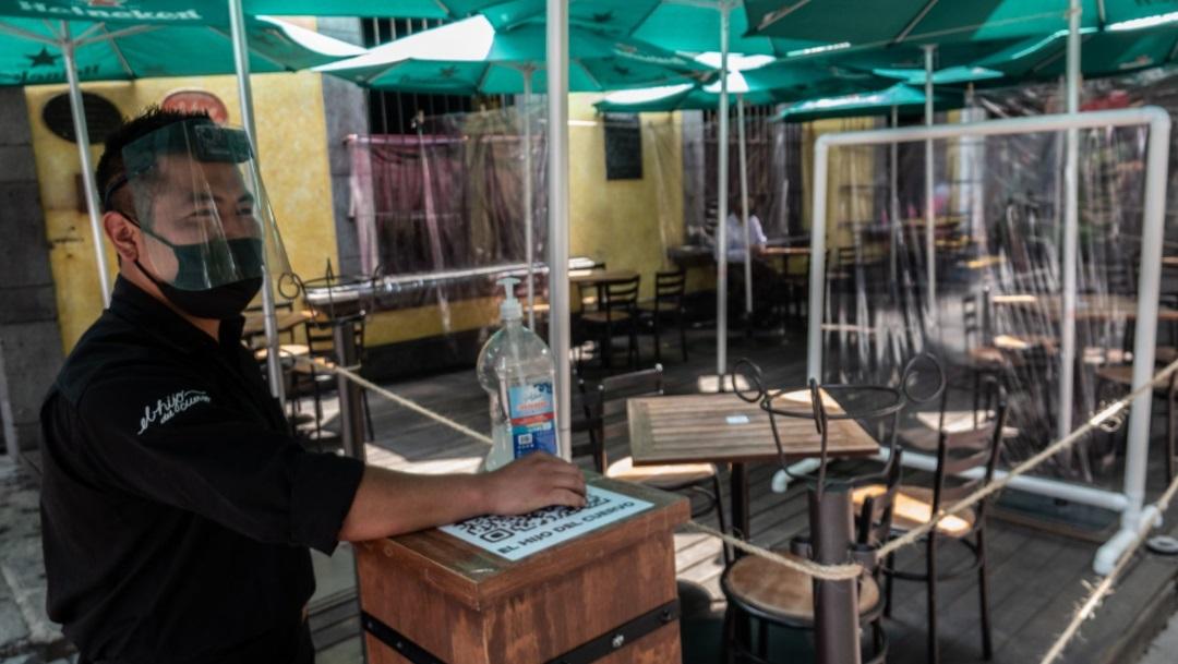 Restaurante en la Ciudad de México horarios por la pandemia