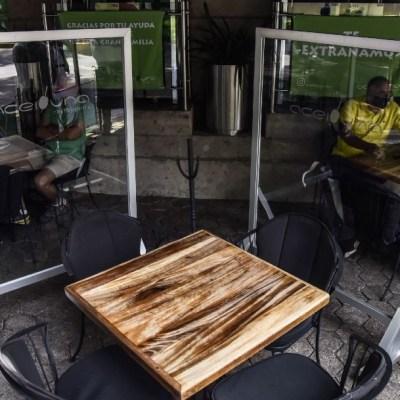 Restaurantes de la CDMX abren al 30% de su capacidad