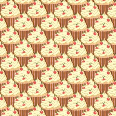 Reto visual: Encuentra los dos conos de helado perdidos entre los cupcakes