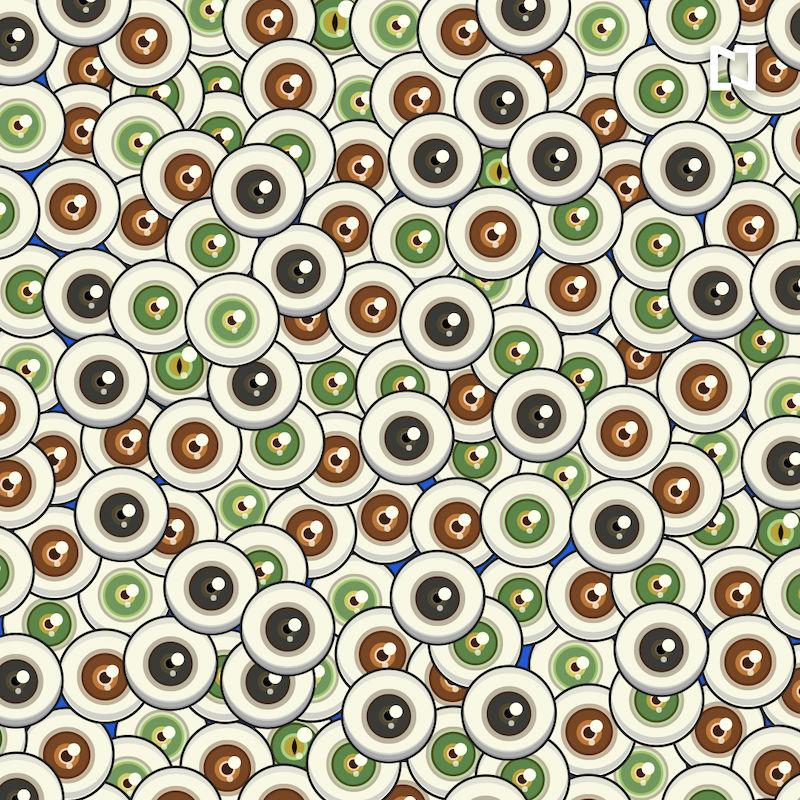 Encuentra los 5 ojos de gato