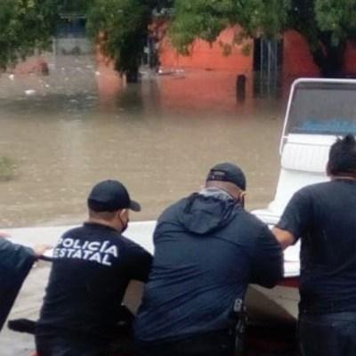 Hanna deja severos daños en Reynosa y Matamoros, Tamaulipas