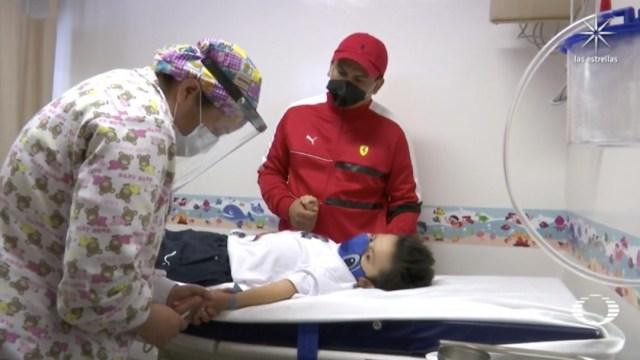 Santi, a sus 9 años venció al COVID-19 y ahora necesita un trasplante de médula ósea