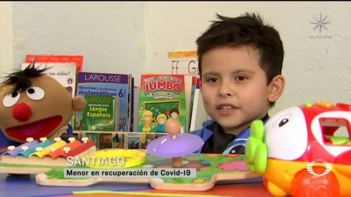 nios superna el coronavrirus, santi de 9 anos supera el covid 19 tras estar 11 dias intubado