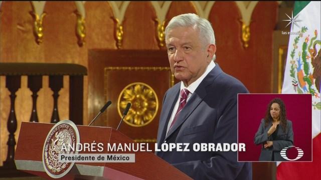 AMLO en informe por los 2 años del triunfo electoral en Palacio NAcional