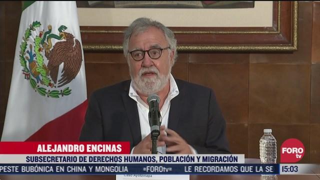 se derrumba la mal llamada verdad historica del caso ayotzinapa encinas