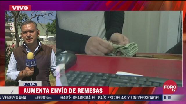 FOTO: 4 de julio 2020, se registra incremento de envio de remesas en oaxaca