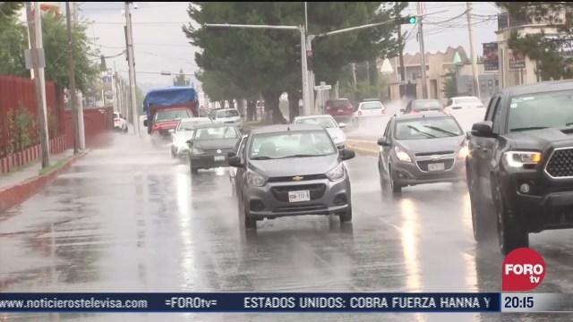 FOTO: 25 de julio 2020, se registra saldo blanco en saltillo tras lluvias provocadas por el huracan hanna